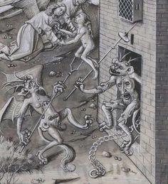 """""""The consolation of the dying man."""" BNF, Français 9198, f. 70r . Vie et miracles de Notre Dame, Jean Miélot, 1456. pic.twitter.com/VVyeAqQkyj"""