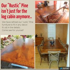 New England Joinery builds handmade, reclaimed wood farm tables,rustic dining tables, & trestle tables. Rustic Pine Furniture, Handmade Furniture, Trestle Table, Dining Table, Joinery, New England, Beams, Website, Building