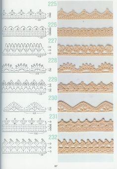 schémas de points , bordures 2 - BastetCréas