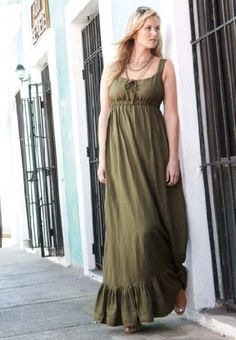 love this dress - might try to sew one...