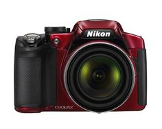 Nikon COOLPIX P510 16.1 MP CMOS Digital Camera with 42x Zoom NIKKOR ED Glass Lens and GPS Record Location (Red) $429.00