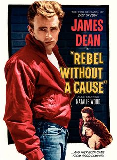 """1955. The best-known movie from director Nicholas Ray; made a star of James Dean. """"And they both came from good families!"""""""