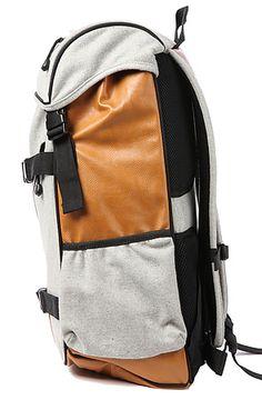 The Tech Bag in Light Melton