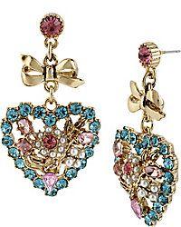 Drop Earrings - Shop Womens Fashion Earrings from Betsey Johnson