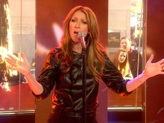 Celine Dion belts out 'modern,' 'edgier' songs on TODAY