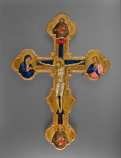 Crucifix Master of the Orcagnesque Misericordia (Italian, Florence, active second half 14th century)