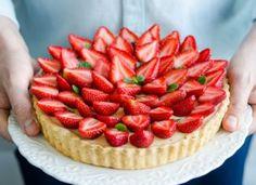 Tarta cu capsune Strawberry, Fruit, Food, Pie, Meal, The Fruit, Eten, Strawberry Fruit, Meals