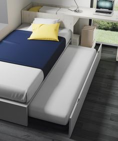 8 Convertible Beds That Add Unique Style To Your Room Home Design Living Room, Bedroom Bed Design, Kids Room Design, Bedroom Decor, Small Room Interior, Small Room Bedroom, Kids Bedroom, Boys Bedroom Furniture, Convertible Bed