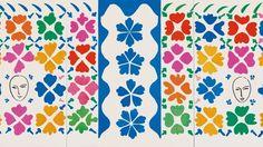 """""""Large Composition with Masks"""" 1953, Henri Matisse"""