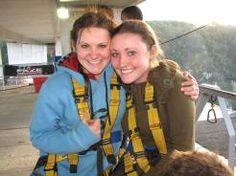 Happy sisters Bree and Savannah