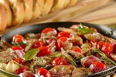Receita de Sardinha com alho e tomate - Comida e Receitas
