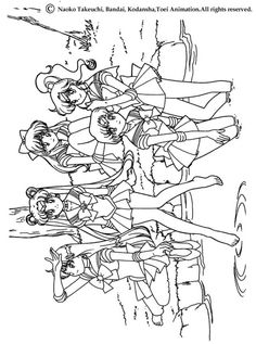 Sailor Moon Coloring Pages from Printable Sailor Moon Coloring Pages. On this page, there are a lot of coloring pictures to color, paint, or whatever. We have different coloring pages from Sailor Moon. Have fun! Sailor M. Cat Coloring Page, Coloring Pages For Girls, Cool Coloring Pages, Cartoon Coloring Pages, Coloring Books, Kids Coloring, Sailor Moon Manga, Sailor Moons, Moana Coloring Pages