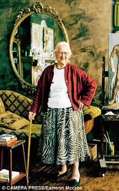 Anne Olivier Bell, the last surviving British member of the Fine Arts and Archives (MFAA) unit or The Monuments Men. Article here: http://www.dailymail.co.uk/home/event/article-2544833/Hitler-Raiders-lost-art-We-saved-worlds-art-treasures-Hitler.html