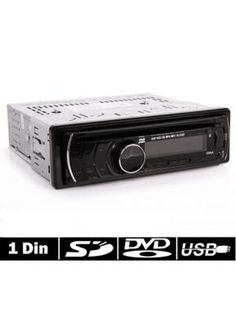 1 DIN Autoradio USB Stick SD FM Auto KFZ car DVD VCD MP3 Player aus DE