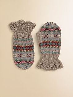 Ralph Lauren - Toddler's & Little Girl's Fair Isle Gloves