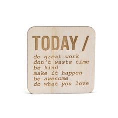 Inspirational magnets are the perfect pick-me-up on a bad day