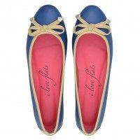 Sapatilha Vegetal Marinho Love008MA #sapatilhas #iloveflats #flats #shoes #fashion