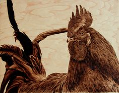 pyrography in the Russia | ... The Stunningly Beautiful Pyrography Artwork of Artist Julie Bender