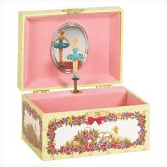 Didn't every little girl have a ballerina music box? I still have mine.