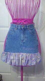 Custom toddler Apron made from 4T jeans.  www.facebook.com/ODark30Designs