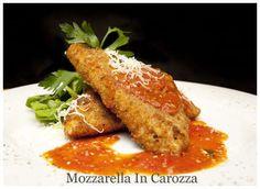 Mozzarella In Carozza by Chef Anne Burrell
