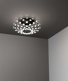 The Mesh family has expanded with a ceiling version with 96 light points. The particular structure permits exceptional freedom in the control of luminance. It is possible to govern the intensity of the light. Ceiling Lamp, Ceiling Lights, Mesh, Lighting, Luxury, Design, Opaline, Toronto Canada, Home Decor