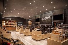 Market-Style Food Stores - The Home Park High Quality Food Store Designs are Separated by Function (GALLERY)