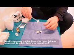 Différentes manières de préparer le Skenan (morphine) avec le filtre toupie
