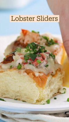 Lobster Dishes, Lobster Recipes, Fish Recipes, Seafood Recipes, Appetizer Recipes, Appetizers, Fun Baking Recipes, Cooking Recipes, Junk Food
