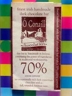 o'conaill chocolate online - Google Search Local Products, Pure Products, Dark Chocolate Bar, Cocoa, Celtic, Irish, Artisan, Google Search, Handmade