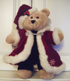 Starbucks 2004 Bearista Holiday Bear, Retired, EUC