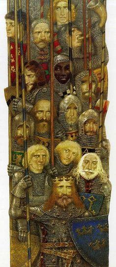 """Arthur of Albion"" by Pavel Tatarnikov"