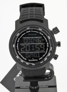 Wristwatch (Watch) Suunto Elementum Terra All Black Rubber by Suunto. $720.00. Data sheet:  Altimeter Altitude range -500m - 9000m/-1600ft - 29500ft  ? Real-time vertical cumulative value? Resolution      1m / 3ft Temperature compensation      ? Total Ascent Descent  ? Logbook function8 logs/logbook files   Chronograph Stopwatch ?   Compass Guided calibration   ? Heading in degrees   ? North-South indicator:North indicator Tilt compensation up to 45 degrees    ?   O...