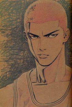 Fashion and Lifestyle Anime Drawings Sketches, Manga Drawing, Manga Art, Manga Anime, Anime Art, Slam Dunk Manga, Inoue Takehiko, Basket Drawing, Epic Art