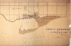 Where the Toronto street grid got its start
