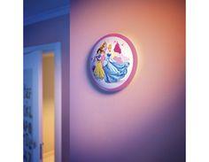 Aplique Infantil LED Quitamiedos Disney Princesas - Con sensor de movimientos