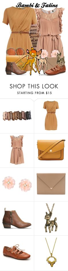 """""""Bambi & Faline"""" by amarie104 ❤ liked on Polyvore featuring Urban Decay, Dorothy Perkins, Ichi, Forever 21, Dettagli, Alexander Wang, Office, Pieces and Andrew Hamilton Crawford"""
