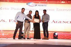 Kamdhenu paints Award ceremony :Full of excitement & fun.