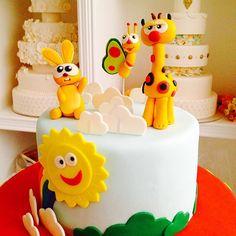Baby TV characters #fun #cake #cakeart #nofilter #chevron #babytv ... Baby 1st Birthday Cake, Picnic Birthday, Birthday Ideas, Baby Tv Cake, Friends Cake, Character Cakes, 1st Birthdays, Pretty Cakes, Celebration Cakes