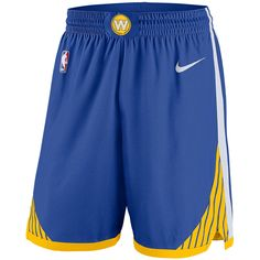 Golden State Warriors Nike Dri-FIT Men s Icon Edition Swingman Short -  Royal Golden State 76316a8a6