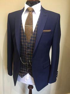 Wedding Suit Hire For Men & Tailoring – [pin_pinter_full_name] Wedding Suit Hire For Men & Tailoring Slim fit Blue check suit Wedding Suit Hire, Wedding Men, Trendy Wedding, Wedding Blue, Mens Fashion Suits, Mens Suits, Groom Suits, Groomsmen, Best Blue Suits