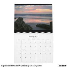 Inspirational Sunrise Calendar