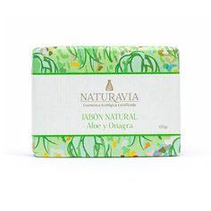Jabón de Onagra y Aloe con Caléndula y Bergamota - Naturavia