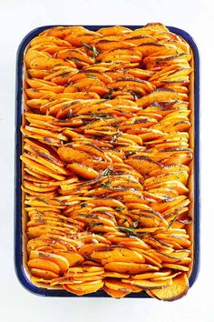 Crispy baked sweet potatoes in tray. Good Sweet Potato Recipe, Best Potato Recipes, Crispy Sweet Potato, Roasted Potato Recipes, Sweet Potato Casserole, Roasted Sweet Potatoes, Baked Sweet Potato Slices, Crispy Potatoes, Sweet Recipes