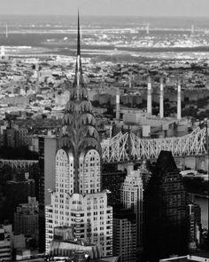 New York City Skyline  8x10 Black & White by DLobosPhotography, $7.99