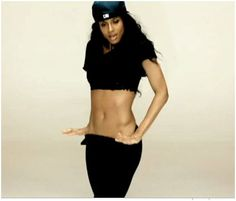 Curvy Ciara. Rides the beat, like no one else. Whew! What a video this was!