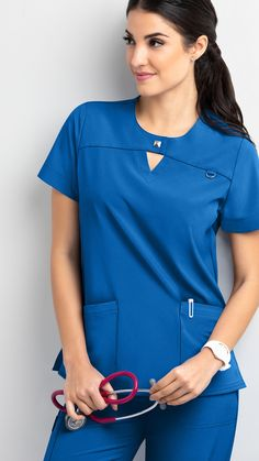 Move with ease throughout your shift in Easy Stretch by Butter-Soft Scrubs at Uniform Advantage. Shop for our exclusive flexible scrubs today! Yoga Scrub Pants, Stylish Scrubs, Spa Uniform, Cute Scrubs, Scrubs Outfit, Uniform Advantage, Estilo Hippy, Easy Stretches, Scrub Jackets