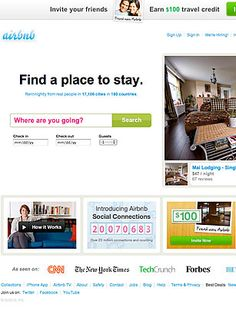 Airbnb is a sort of eBay for places to stay: a marketplace for spare bedrooms and unused vacation homes in 190 countries that matches travelers with hosts and handles the financial transaction in return for a 3% cut.