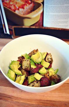 Roasted Avocado Potato Salad!