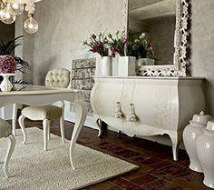 Classic Dining Room Furniture, Living Room Designs, Living Room Decor, Home Entrance Decor, Home Decor, Kitchen Cabinet Storage, Modern Garden Design, Interior Design, Mirror
